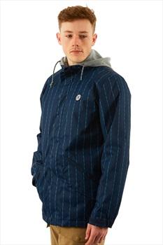 DC Union Ski/Snowboard Jacket, M Dress Blues Logo Pin Stripe