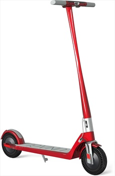 Unagi Model One E500 Folding Electric Scooter, Scarlet Fire