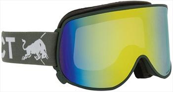 Red Bull Spect Magnetron Eon Yellow Snowboard/Ski Goggles M/L Olive