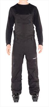 Armada Mens Vision Stretch Snowboarding/Ski Bib Pants, S Black
