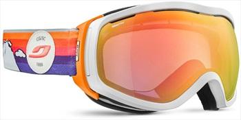 Julbo Elara Reactiv 1-3 Women's Snowboard/Ski Goggles, L White