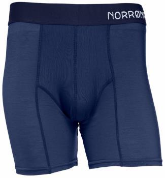 Norrona Wool Baselayer Boxer Briefs, L Indigo Night