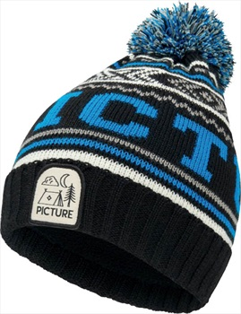 Picture Donnie Kid's Ski/Snowboard Beanie, One Size Black