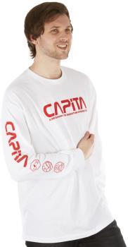 Capita Quantum Long Sleeve T-Shirt, S White