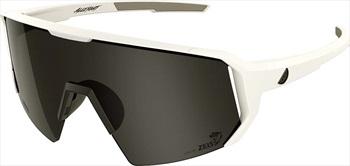 Melon Adult Unisex Alleycat Smoke Performace Sunglasses, M/L White/Black