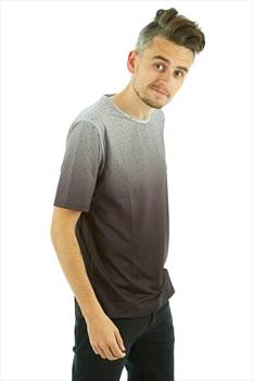 Wearcolour Raise Tee Men's Sports T-shirt, M Black Fade