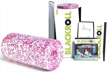 Blackroll Med Massage Roller, White/Pink