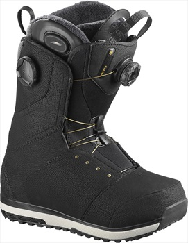 Salomon Kiana Toast BOA Womens Snowboard Boots, UK 5.5 Black 2020