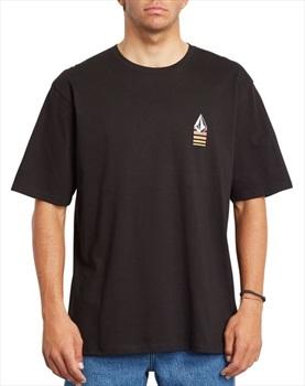 Volcom Bloxer RLX Short Sleeve T-Shirt, M Black