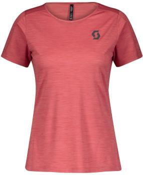 Scott Trail Run LT S/SL Women's Running T-Shirt, UK 6-8 Brick Red