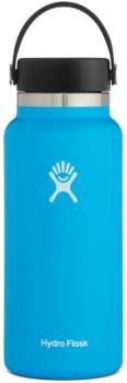 Hydro Flask 32oz Wide Mouth With Flex Cap 2.0 Water Bottle, Pacific