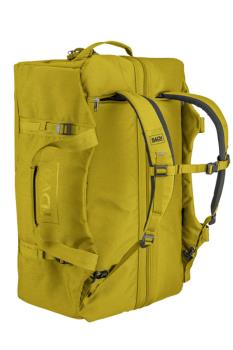 BACH Dr Duffel Travel Luggage Bag, 70L Yellow Curry
