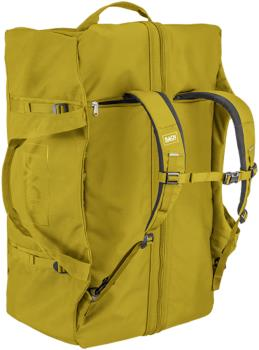 BACH Dr Duffel Travel Luggage Bag, 110L Yellow Curry