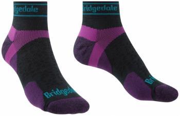 Bridgedale Trail Run Ultralight T2 Women's Merino Low Socks S Purple