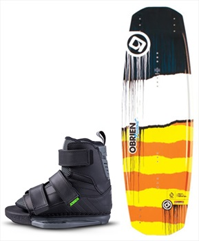 O'Brien Fremont | Host Park Wakeboard Package, 138|2.5-5.5 Yellow
