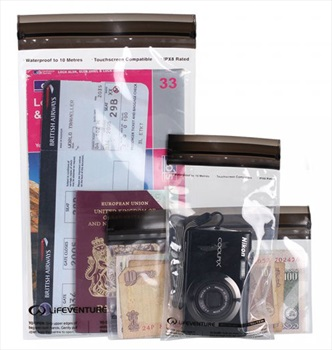 Lifeventure DriStore Waterproof Valuables Case Travel Pouches