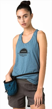Prana PrAna Graphic Women's Tank Top, S Nickel Sunset
