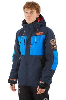 Superdry Mountain Snowboard/Ski Jacket, M Vortex Navy Marl