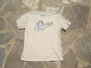 Liquid Force Sketchy SS Knit T Shirt, X Large, Cream