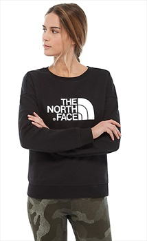 The North Face Adult Unisex Drew Peak Crew Women's Pullover Jumper, S Tnf Black