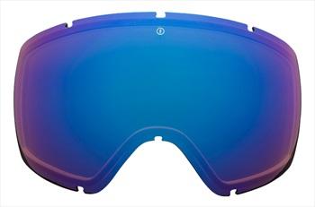 Electric Egg Ski/Snowboard Goggle Spare Lens, Brose/Blue Chrome
