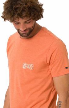 Animal Wings Tee Short Sleeve T-Shirt, S Apricot Orange Marl