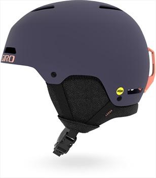 Giro Ledge MIPS Snowboard/Ski Helmet, S Matte Midnight/Peach