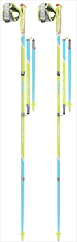 Leki Micro Flash Carbon Compact Nordic Walking Poles, 125cm