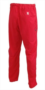 "Troll Omni Pants Unisex Hiking/Climbing Trousers M - waist 32"" Red"