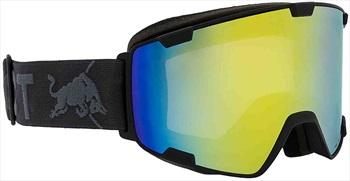 Red Bull Spect Park Yellow Snow Snowboard/Ski Goggles M/L Black