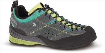 Boreal Flyers Women's Approach/Walking Shoe, UK 5 Grey/Lime