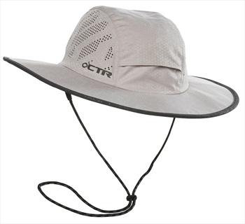 Chaos Summit Expedition CTR UPF Protective Sun Hat, S/M Cement