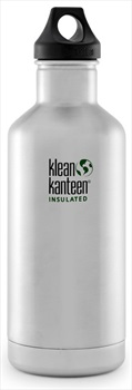 Klean Kanteen Insulated Classic Water Bottle Brushed Stainless