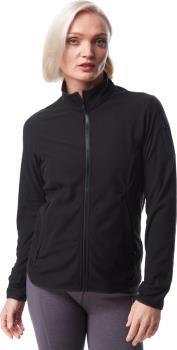 Arcteryx Delta Lightweight Women's Full Zip Fleece Jacket UK 16 Black