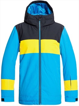 Quiksilver Sycamore Kid's Ski/Snowboard Jacket, Age 12 Cloisonne