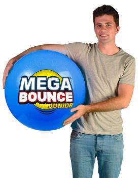 Wicked Junior Mega Inflatable Bouncing Ball, 1.4M Blue