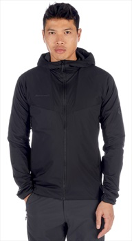 Mammut Rime Light Flex Hooded INS Climbing Jacket, L Black