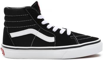 Vans Sk8-Hi Kid's Skate Trainers/shoes, UK Child 13 Black/True White
