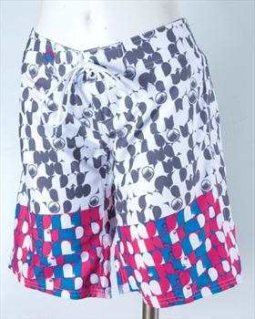Liquid Force Luna Board Shorts, UK 8 US 4 Eur 36 White