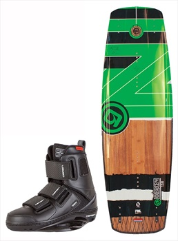 O'Brien Fade | GTX Crossover Wakeboard Package, 143 | 5-7 Green