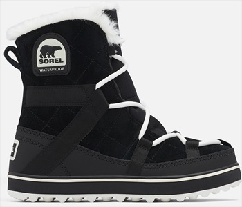 Sorel Glacy Explorer Shortie Women's Winter Boots, UK 6 Black