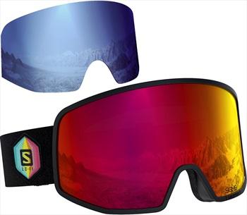 Salomon Lo Fi Snowboard/Ski Goggles, M/L Huck Knife Ex Display