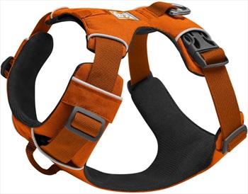 Ruffwear Front Range Harness Padded Dog Walking Harness, M Campfire