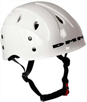 DMM Child Unisex Kids Ascent Rock Climbing Helmet, 48 - 57cm White