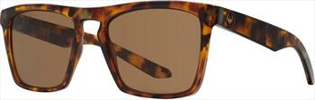 Dragon Drac Blue/Bronze Lens Sunglasses, Tortoise