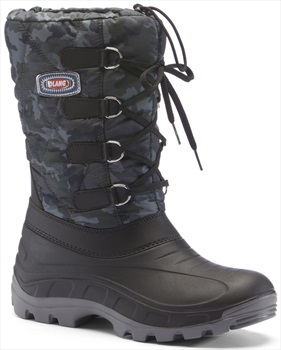 Olang Canadian Winter Snow Boots, UK 10.5/11.5 Blue Camo