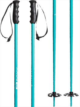 Roxy Dreamcatcher Ski Poles, 125cm Blue