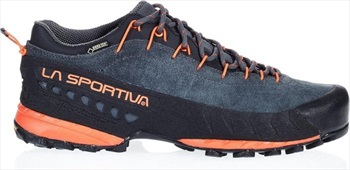 La Sportiva TX4 GTX Approach Shoe, UK 12 / EU 47 Carbon/Flame