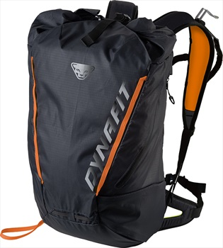 Dynafit Adult Unisex Expedition 30 Roll-Top Backpack, 30l Black/Yellow