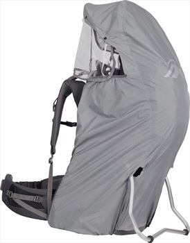 Macpac Rainbow V2 Rain Cover Child Carrier Accessory, OS, Light Grey
